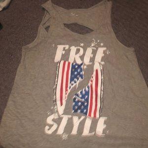 Three justice shirts
